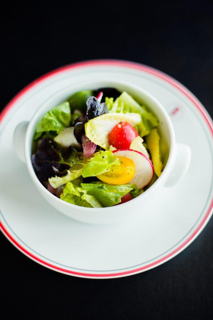 Mesclun Salad Beer Vinaigrette