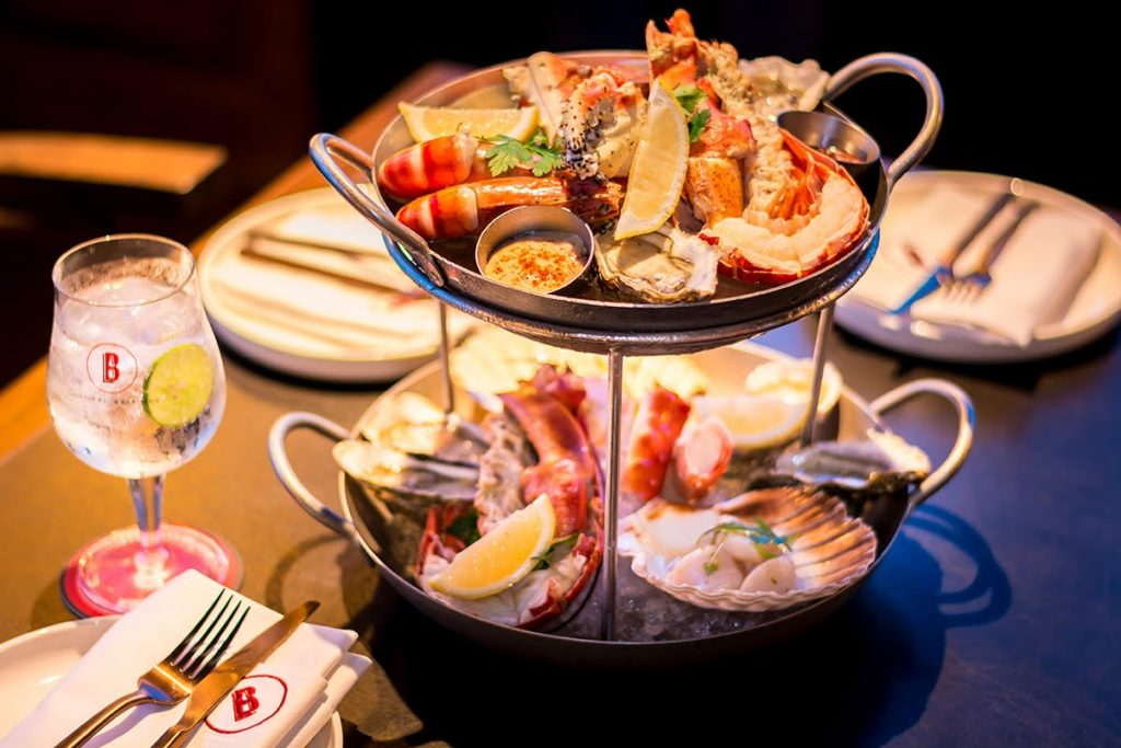 Imported Seafood Tower Special